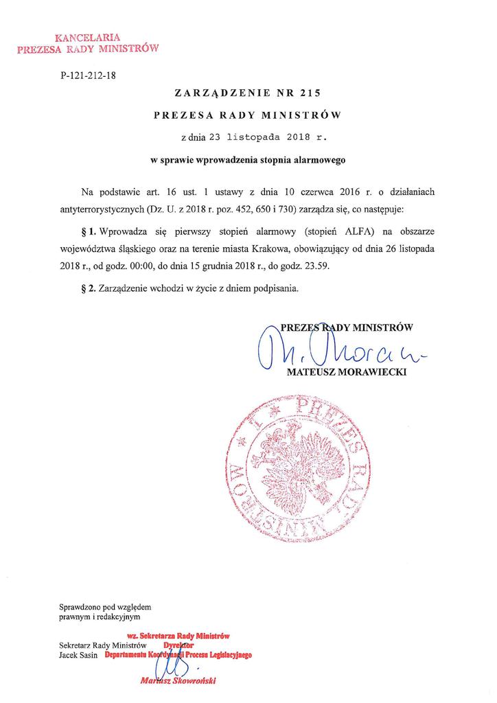 P-121-212-18 zarz. nr 215 PRM 2018 stopień alarmowy1.png