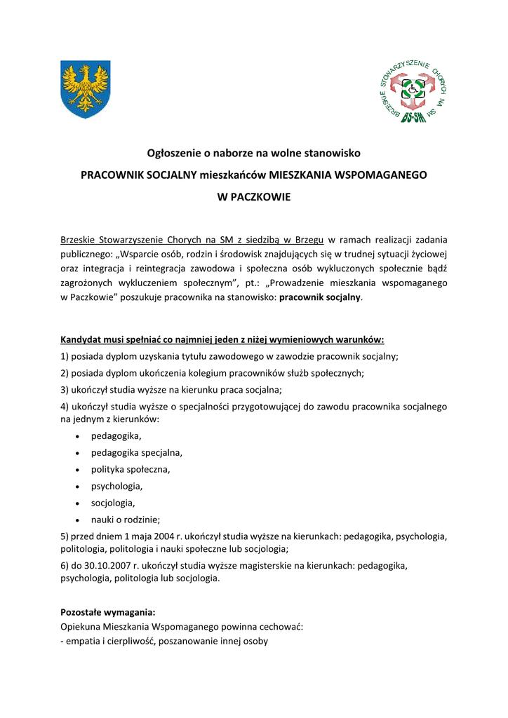 Ogłoszenie pr socjalny Paczków1.png