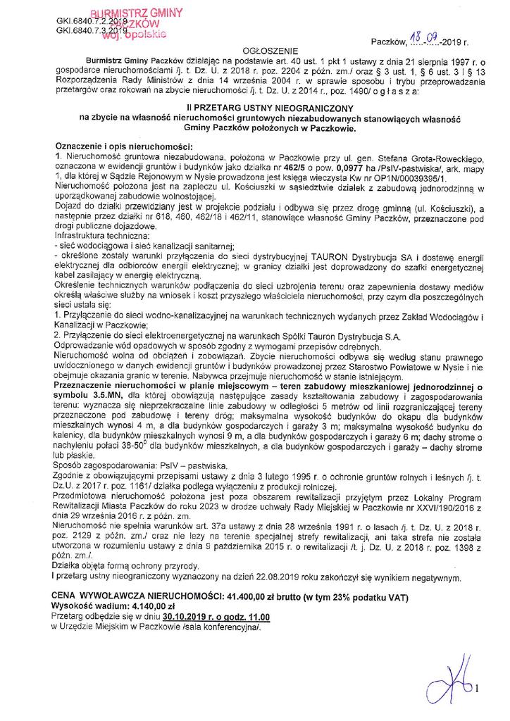 Ogłoszenie II o przetargu 462p5 i 462p61.png