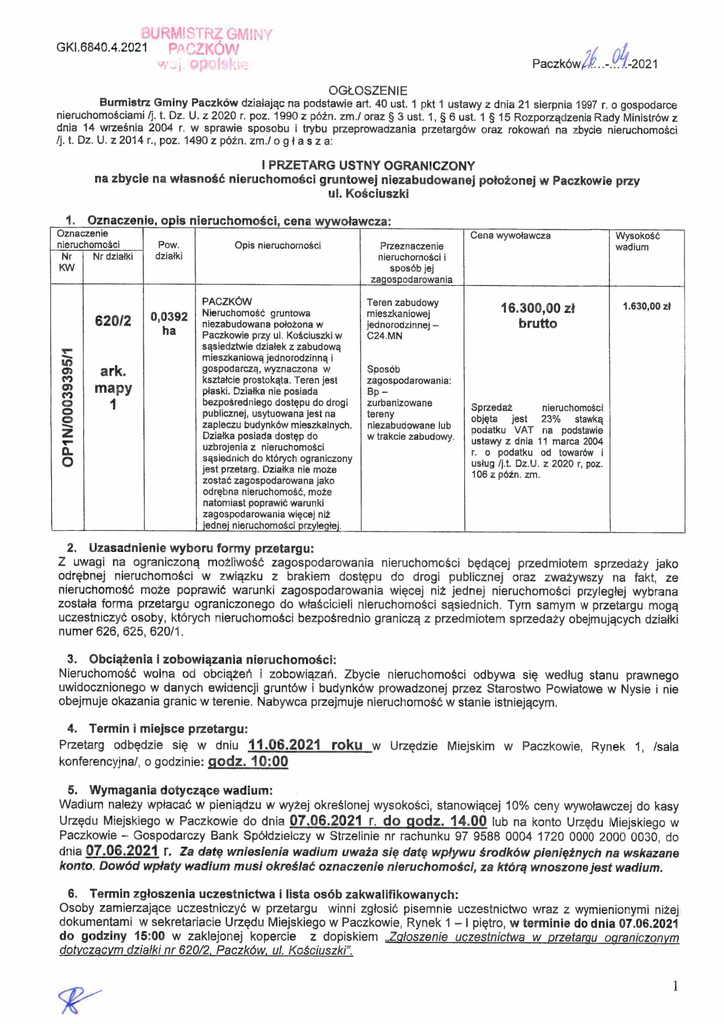 ogłoszenie o I przetargu Kościuszki 620p2-1.jpeg