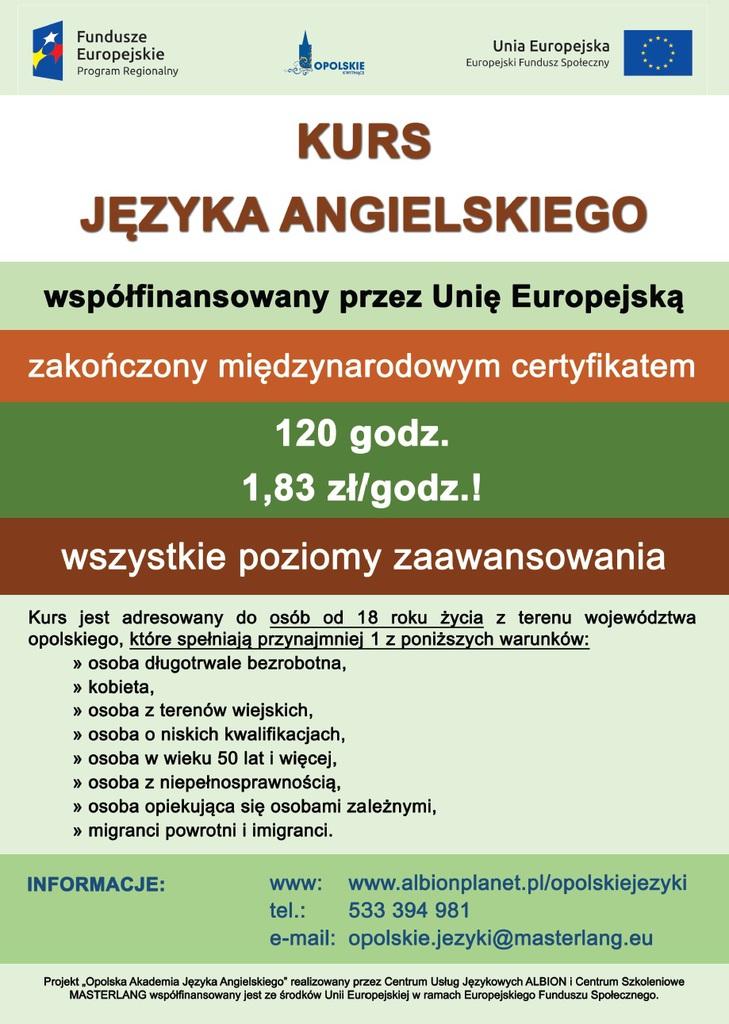 Kurs Języka Angielskiego Urząd Miejski W Paczkowie