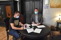 Galeria Podpisanie umowy na zagospodarowanie stawu przy ul. Klonowej